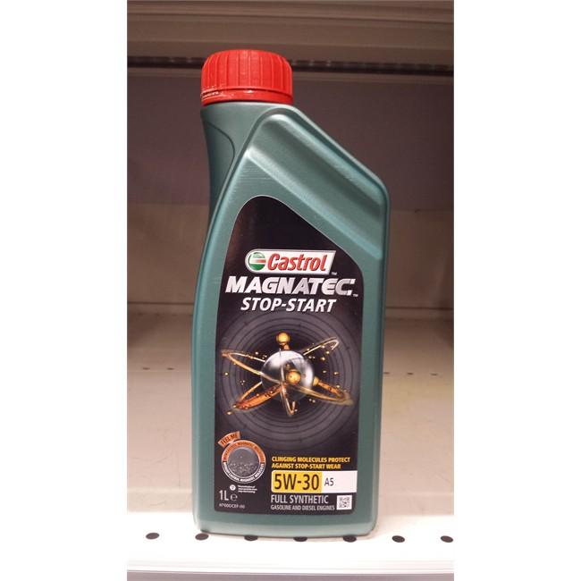 castrol magnatec 5w30  Olio CASTROL Magnatec S&S 5W30 A5 1L :
