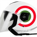 Casco H&H SPORTS Palio 2.0 White Jet M