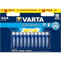 10 Pile VARTA HIGH-ENERGY ministilo