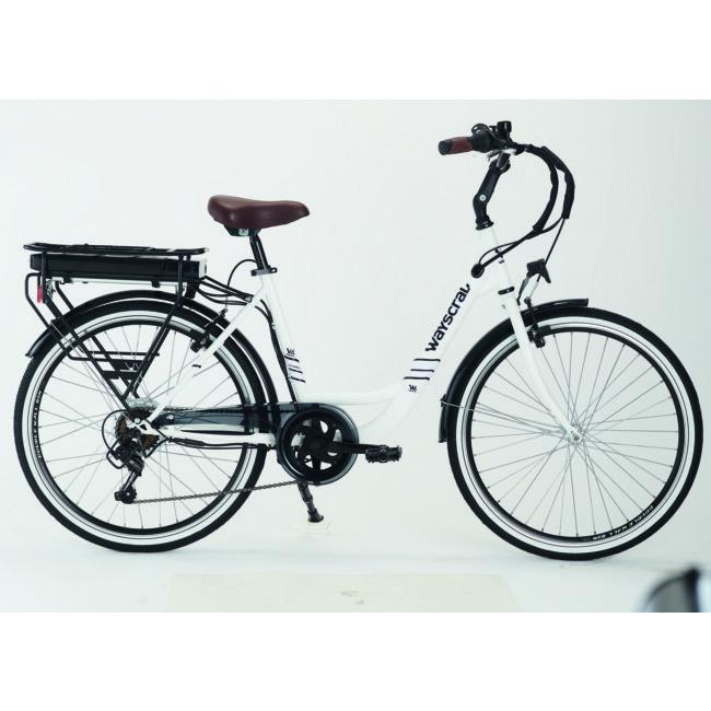 Bici Elettrica Wayscral Everyway E100 Bianca